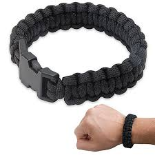black survival bracelet images Black bracelot army surplus warehouse jpg