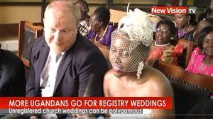 registry wedding free more ugandans go for registry wedding