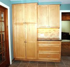 Oak Kitchen Pantry Storage Cabinet Unfinished Wood Pantry Cabinet 7 Multi Storage Pantry Oak 7