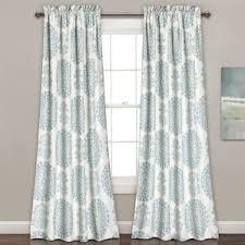 Turquoise Curtain Rod Curtains U0026 Drapes Birch Lane