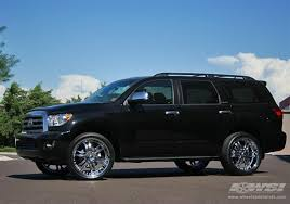 toyota sequoia 2009 2009 toyota sequoia with 24 giovanna wheels by wheel specialists