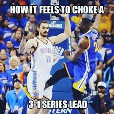 Warriors Memes - the warriors blew a 3 1 lead know your meme