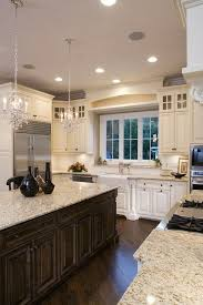 Kitchen Off White Cabinets 33 Best Dark Island White Cabinets Images On Pinterest Dream