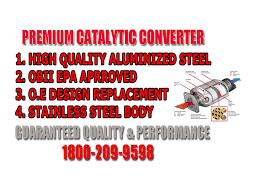 nissan murano catalytic converter front left front right and rear catalytic converters for murano