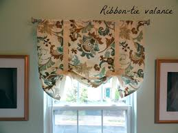 Curtains With Ties S Nest Ribbon Tie Valance