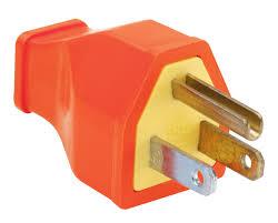 pass u0026 seymour sa399bkcc10 residential straight blade plug 15 amp