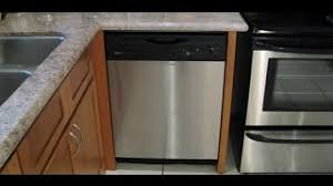 how to install base cabinets with dishwasher installing a new dishwasher in the kitchen