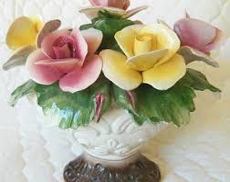 capodimonte roses capodimonte roses etsy