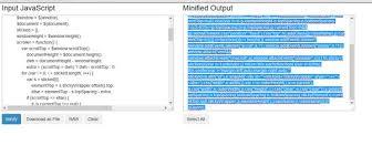 membuat web sederhana dengan javascript 22 alat untuk mengecilkan ukuran file javascript agar website cepat