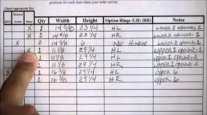 Measuring Cabinet Doors Printable Worksheet For Measuring Cabinet Doors