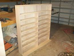 Wooden Storage Shelf Designs by Best 25 Dvd Bookcase Ideas On Pinterest Dvd Storage Movie