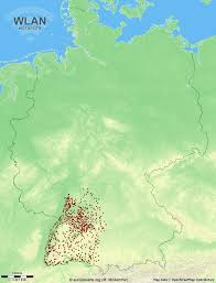 Baden Wuttemberg 3 721 Wlan Hotspots In Baden Württemberg Anzeigen