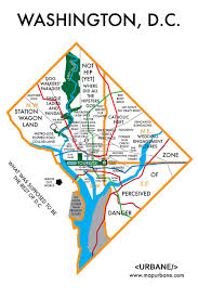 Map Of Washington by 20 Maps Of Washington D C They Never Showed You In