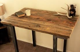 Wooden Bar Table Reclaimed Wood Bar And Pub Table Cafe Table