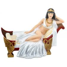 cleopatra modern egyptian queen 4 5 inch statue