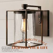retro outdoor light fixtures free shipping diy american country wrought iron wall ls sconces