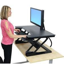 standing computer desk amazon standup computer desk 48inch wide mobile ergonomic standup desk