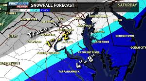 Ocean City Md Map More Snow Winter Storm Warning Issued For Southern Md Wusa9 Com