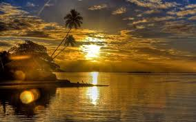 sunsets sunset landscape ocean nature beauty bungalow wallpaper