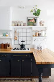 Kitchens With Colored Cabinets Go Halfsies In Your Kitchen With Bi Colored Cabinets