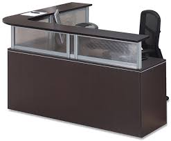 Gray Reception Desk Gsa Approved Furniture 1 800 531 1354 Trusted 30 Years