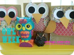 paper bag owl craft laura williams