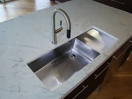modern kitchen sink with drain boards and chrome faucet contemporary kitchen sinks undermount sink beautiful with top modern