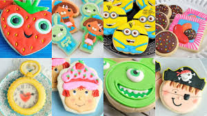 decorated cookies amazing decorated cookies minions octonauts candy crush monsters