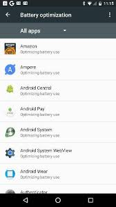 android optimizing app what is optimize battery usage android forums at