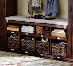 Storage Bench With Baskets Entryway Storage Bench Also Storage Bench With Baskets Also Shoe