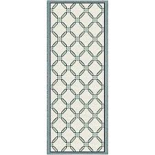 tapis de cuisine alinea tapis de cuisine 67x140cm bleu et blanc carosim 3 linge de