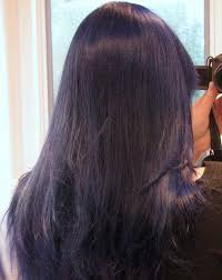 what to dye your hair when its black how to dye your hair purple or dark blue bellatory