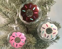 doughnut ornament etsy