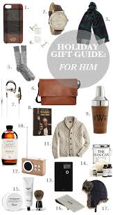 Great Christmas Gifts For Him - my guide to shopping for my guy this season gift guide for him