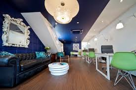 bold choice of colour statement lighting and stunning items of