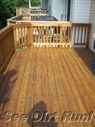 pressure treated deck washing stripping sealing md va