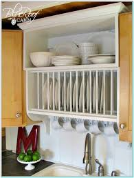 Kitchen Cabinet Plate Rack by Cute Kitchen Wall Shelves For Dishes Around The Arranging Cups And