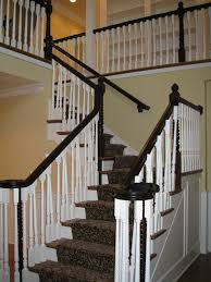 Stairs In House by New 2 Story Foyer Staircase In 100 Year Old Home Newly Renovated