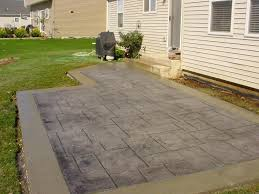 Cement Patio Cost Per Square Foot view in gallery grey stamped concrete ideas for farm housestamped