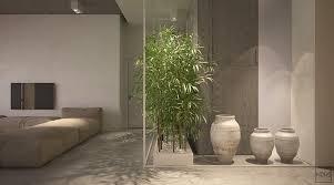 tasteful indoor garden inspiration in two open layout homes