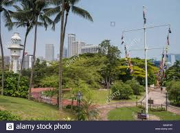Flag Pole Hill View Of Fort Canning Park And Flag Staff Lawn From Raffle U0027s House