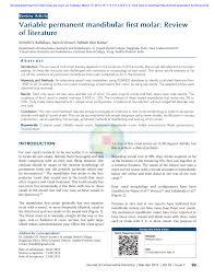 id e canap ap ro prevalence of radix molar in mandibular pdf available