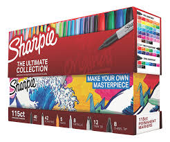 Rethinking Your Impression Of Wall Murals Amazon Com Sharpie Permanent Markers Ultimate Collection