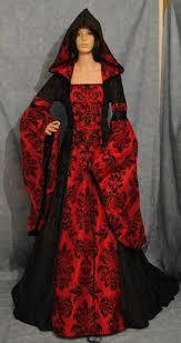 medieval dress renaissance dress vampire dress halloween