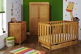Pine Nursery Furniture Sets Obaby York Nursery Furniture Set 3 Pieces Country Pine