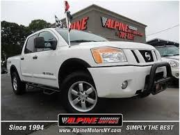 nissan titan quad cab for sale nissan titan crew cab pro 4x pickup in new york for sale used