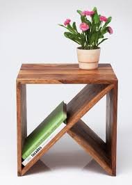Wood Side Table Stylish Tables And Stools Designed To Hold Your Magazines Wood