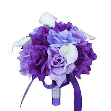 colorful artificial flower wedding bouquet corsage 9