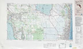Palm Island Florida Map by West Palm Beach Topographic Maps Fl Usgs Topo Quad 26080a1 At 1