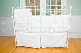 All White Crib Bedding White Matelasse Crib Set Sweet William